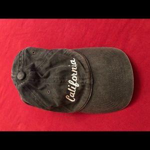 California Hat Cap Black